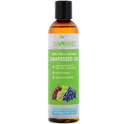 Grapeseed Oil, 100% Pure & Natural