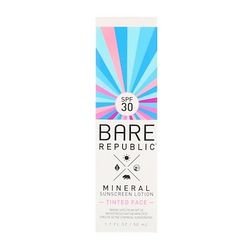 Mineral SPF 30 Tinted Face Sunscreen Lotion