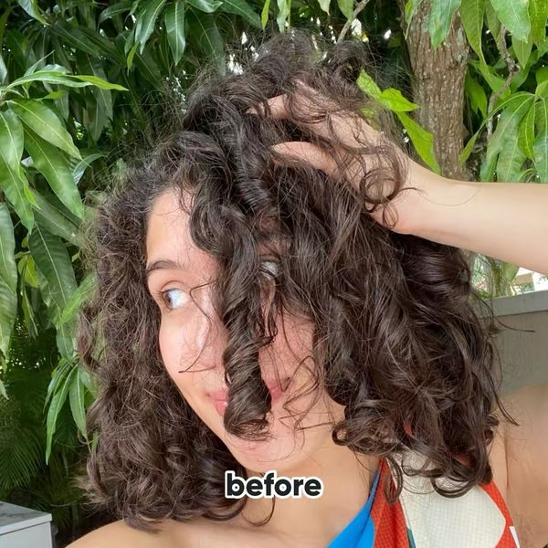 how i got rid of my frizz! (curly) | Cherie