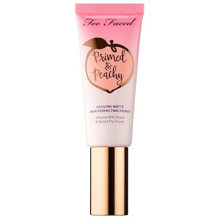 Primed & Peachy Cooling Matte Perfecting Primer – Peaches and Cream Collection, Too Faced, cherie