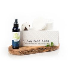 Peppermint Toning Mist + Clean Face Pads
