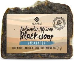 Authentic African Black Soap Bar-Unscented