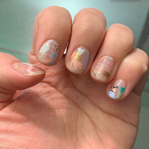 Scratch Nail Stickers