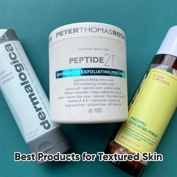 Textured Skin?? 3 Tried & Tested Products!  | Cherie