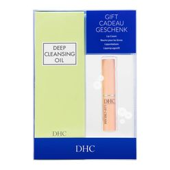 Deep Cleansing Oil and Lip Cream Gift Set