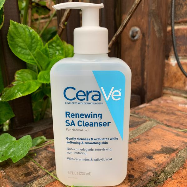 First Impression Review Cerave Sa Cleanser Cherie