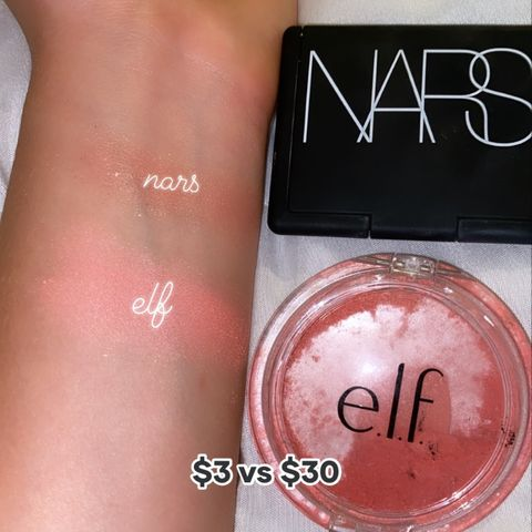 the nars orgasm blush $3 blush dupe!💗🌸