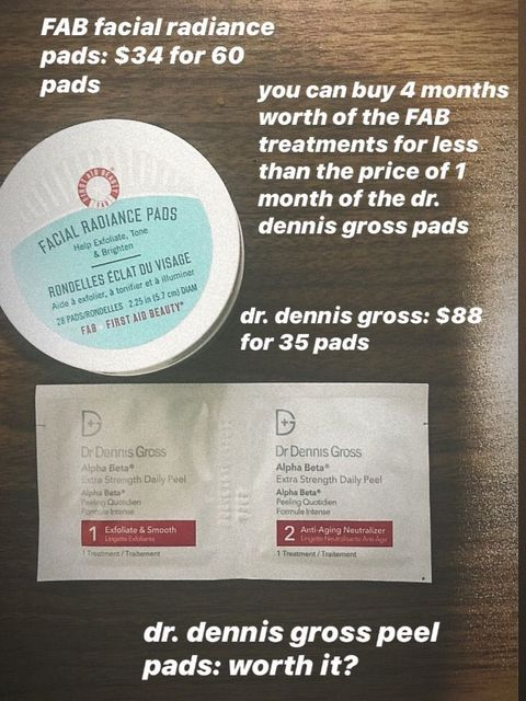 Dr. Dennis Gross Alpha Beta daily peel—worth it?