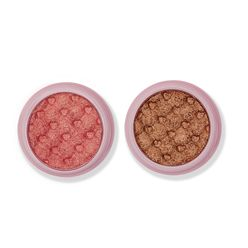 Glimmer Eyeshadow Duo Set 1- Cotton Candy & Iced Latte