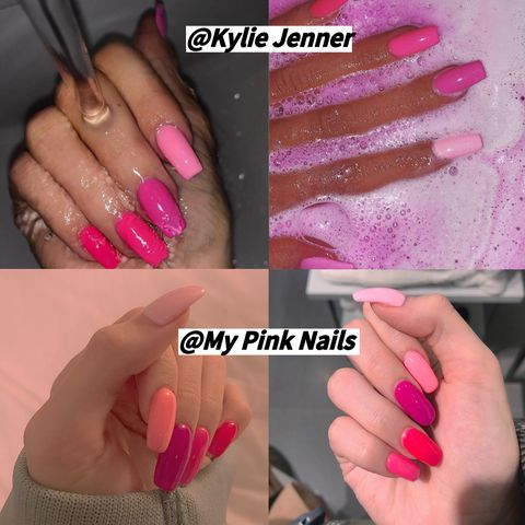 I Got Kylie Jenner's Pink Nails And Found...💅💅💅