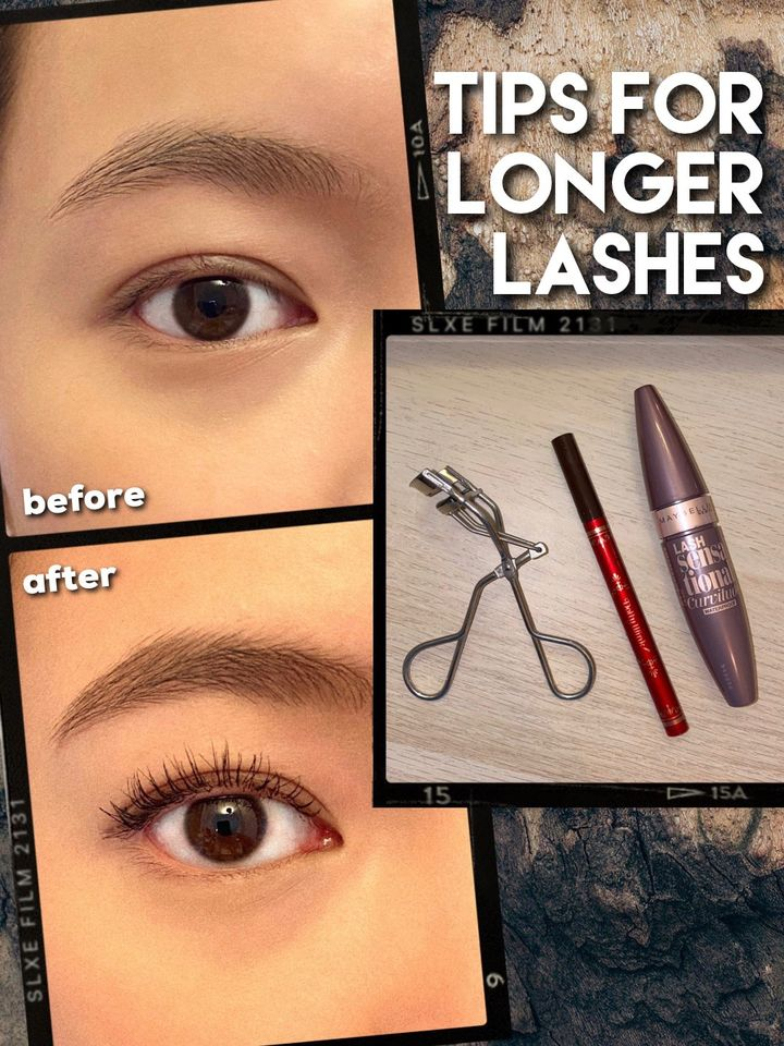 TIPS FOR GETTING LONG LASHES (that stay curled!)