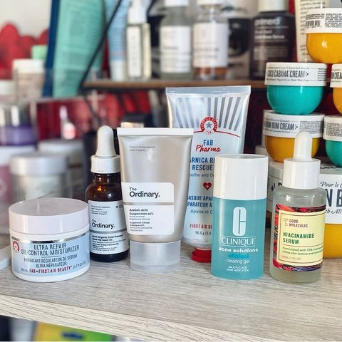 My favorite maskne friendly skincare products ✨