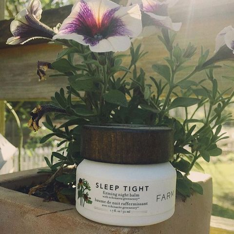 Farmacy sleep tight firming night balm!