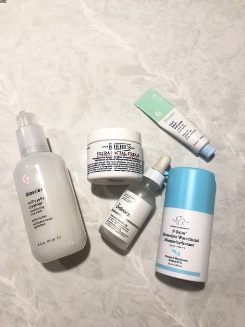 Nightly routine saved my Dry skin 🌙🌙