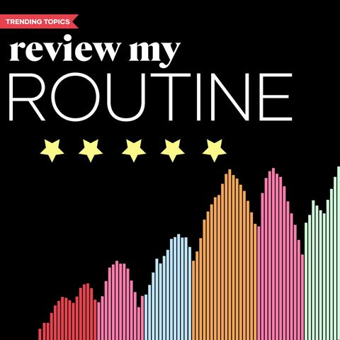 Join the 🏷Review My Routine trending topic!