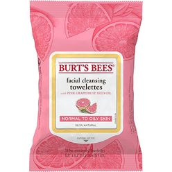 Facial Cleansing Towelettes Pink Grapefruit