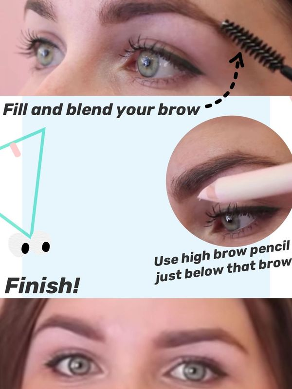 4 steps structured-brow tutorial | Cherie