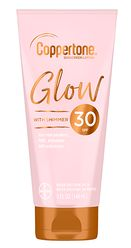 New Coppertone® Glow Sunscreen Lotion with Shimmer