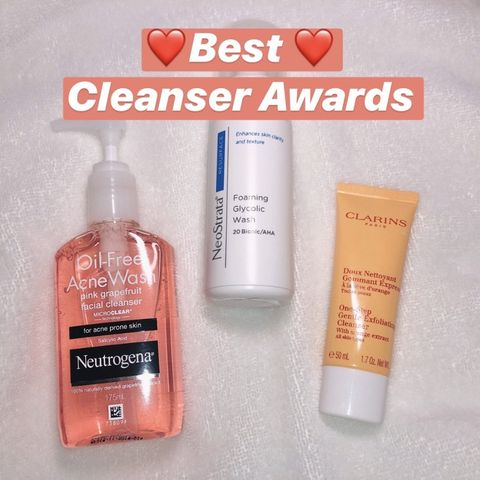 Best Cleanser Awards to my favs!!