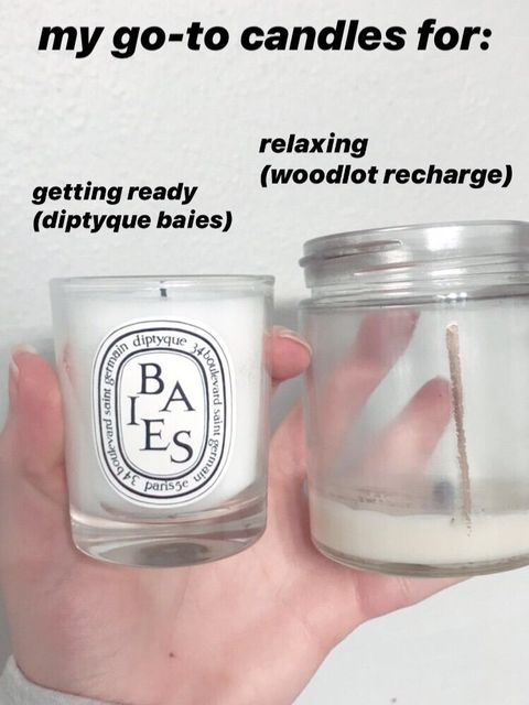 My go-to candles