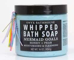 Mermaid Goals Honey & Pear Whipped Bath Soap