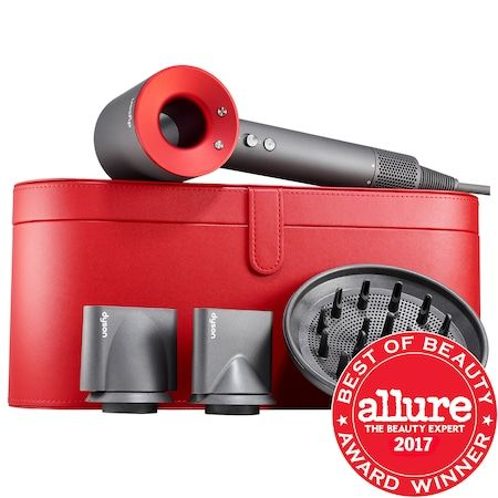Supersonic Hair Dryer Gift Edition with Red Case