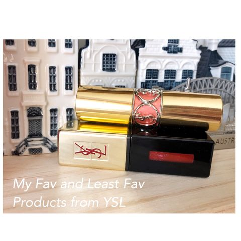 💄What's my favourite and least products from YSL?
