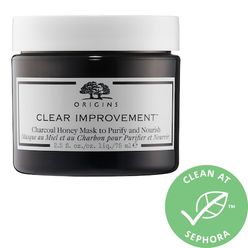 Clear Improvement Charcoal Honey Mask to Purify and Nourish