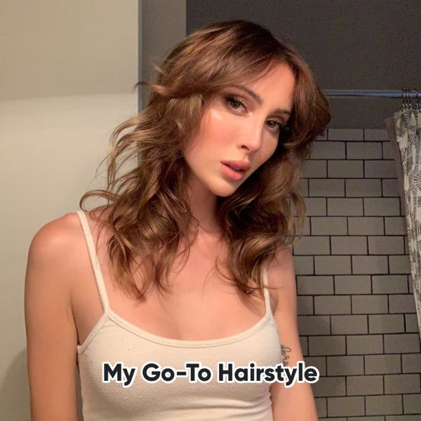My Go-To Hairstyle!  | Cherie