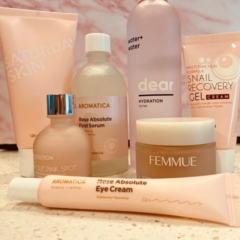 My Korean Skincare Routine for Acne and Marks❣️