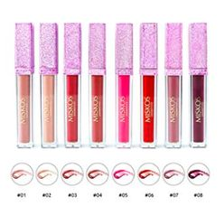 8pcs Matte Waterproof Liquid Lipstick