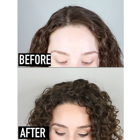 If you have the same flat and less defined roots as mine, check this out👉