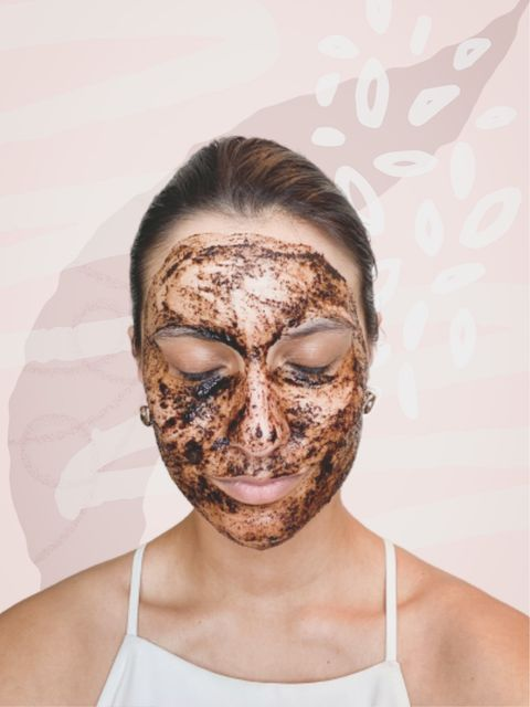 DIY Coffee Mask for Wrinkles & Puffiness