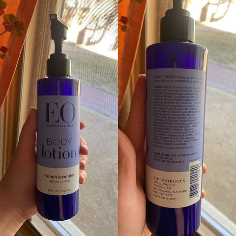 French lavender body lotion
