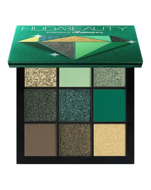 Obsessions Eyeshadow Palette-Emerald