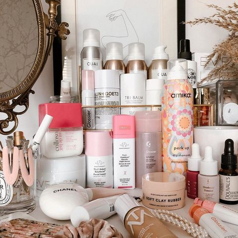 You know my vanity table never