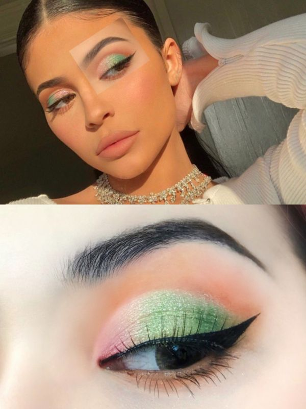 I don't have the Kylie's figure, but I can follow her eye makeup👀 | Cherie