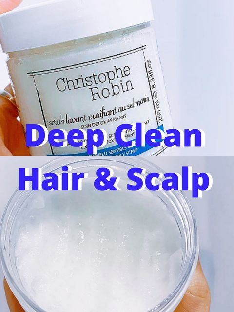 This product will leave your scalp feeling clean!