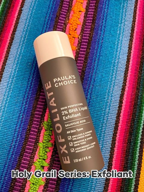 Holy Grail Product for Facial Exfoliation