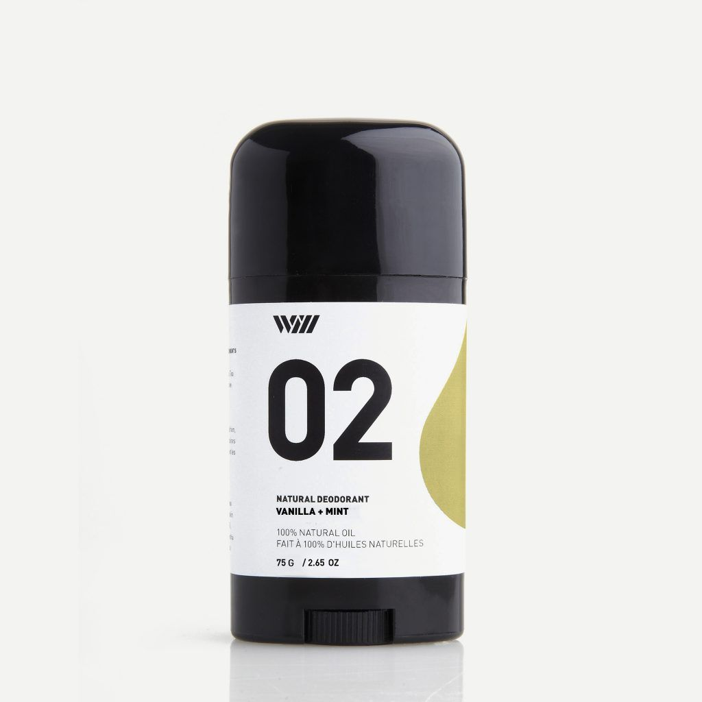 02 Natural Deodorant Vanilla and Mint