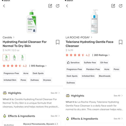 Which cleanser is best?