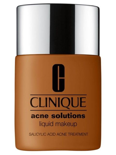 Yes you can wear foundation with acne!