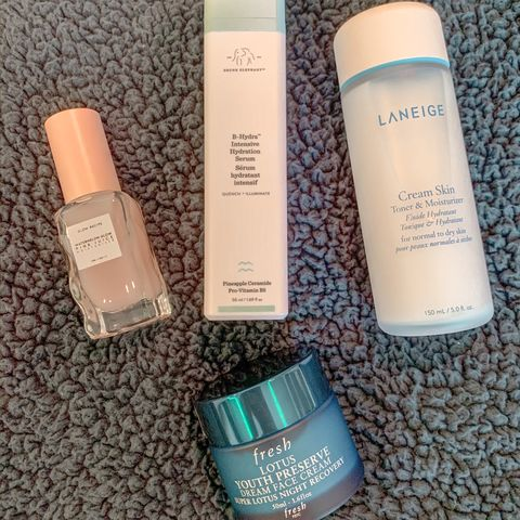 Products for dry skin!