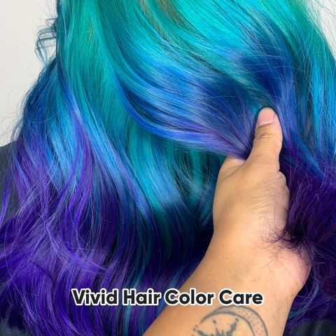 ✨Tips fore maintaining vivid hair colors✨
