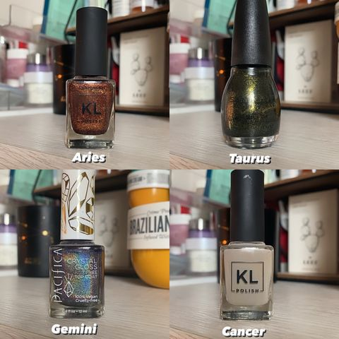 Your nail polish Zodiac ✨