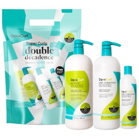Double Decadence Cleanse & Condition Jumbo Set