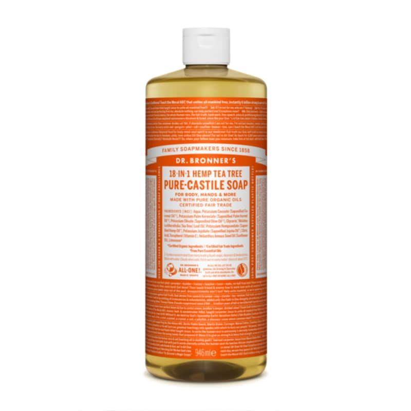 Organic Tea Tree Castile Liquid Soap