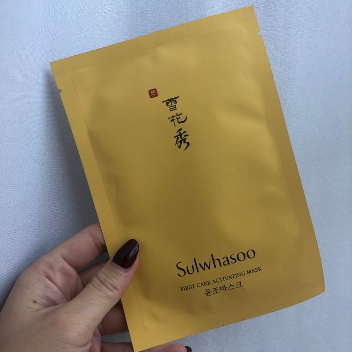 Sulwhasoo sheet mask - luxurious perfection! | Cherie