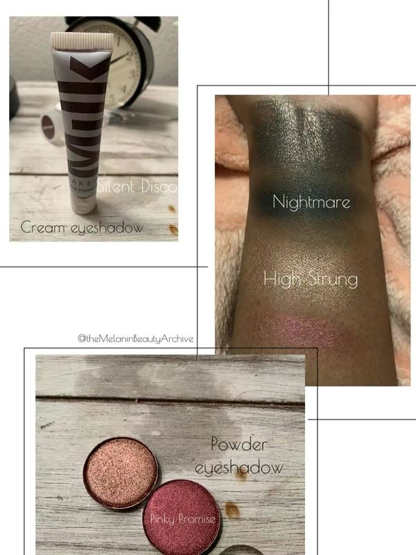 Cream vs. powder eyeshadow | Cherie