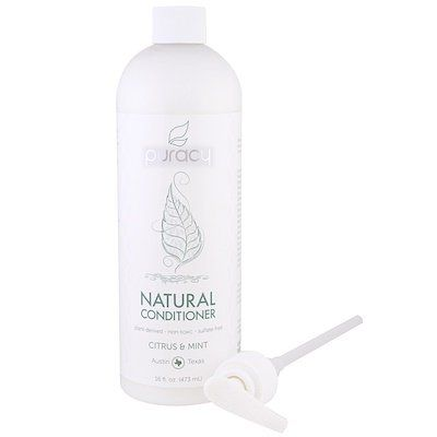 Natural Conditioner, Citrus & Mint, puracy, cherie